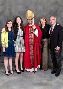 St Benedict Prep - 8th Grade Confirmation, April 4, 2014