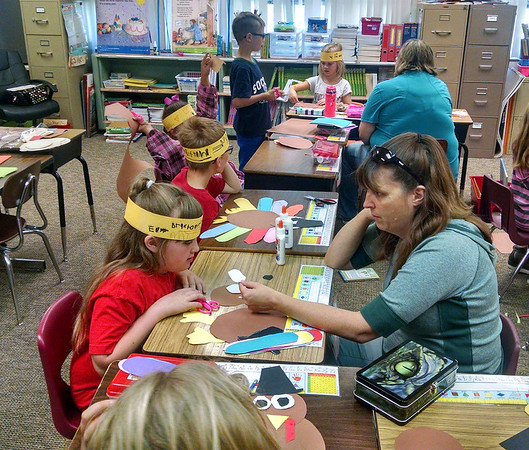 Parents Day @ Lincoln - Mrs. Worley's Class