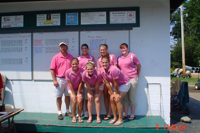 SNHS Girls Golf Conference & Awards 2006