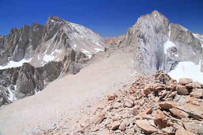 Mt. Russell & Mt. Carillon, June 2012