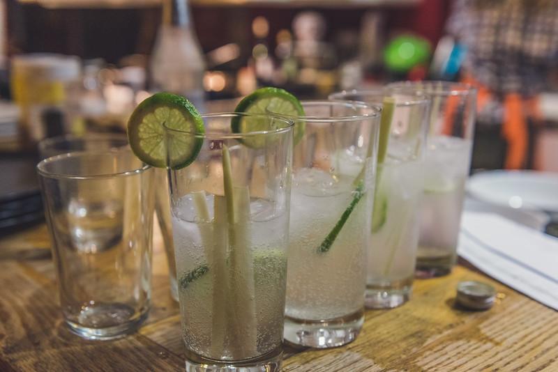 lemongrass gin and tonic