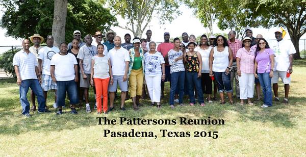 Patterson Reunion 2015