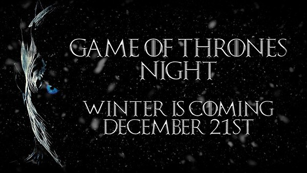 Ice Bears (6) v Evansville (3) 12-21-19 Game of Thrones Night