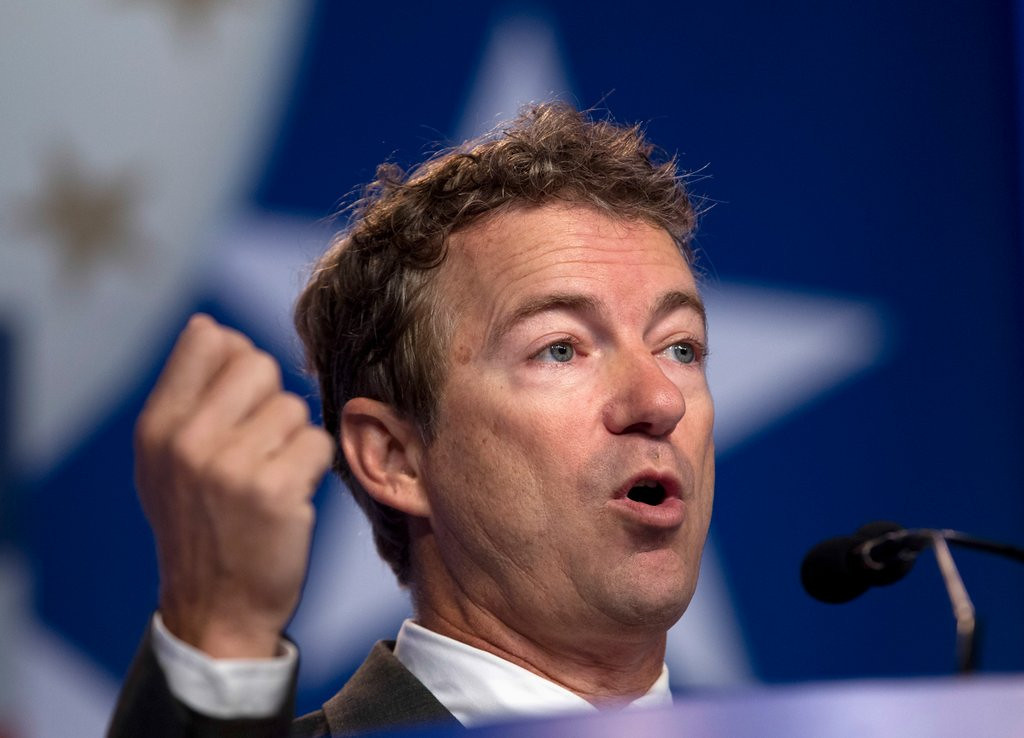 ". <p><b> Tea Party favorite Rand Paul won the Conservative Political Action Conference straw poll over the weekend, meaning he could be a formidable presidential contender in � </b> <p> A. 2016 <p> B. 2020 <p> C. 1848 <p><b><a href=\' http://www.cnn.com/2014/03/08/politics/cpac-straw-poll/\' target=""_blank\"">HUH?</a></b> <p>    (AP Photo/Jose Luis Magana, File)"
