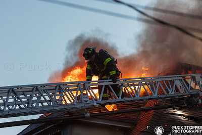 3 Alarm Dwelling Fire - 15 Faneuil Pl, New Rochelle, NY - 5/27/21
