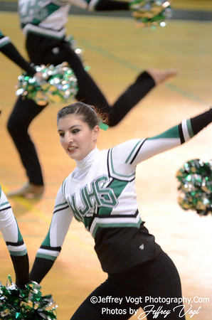01-12-2013 Walter Johnson HS Poms at Damascus HS Division 2, Photos by Jeffrey Vogt Photography