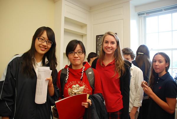 Jincai High Students visit Germantown Academy