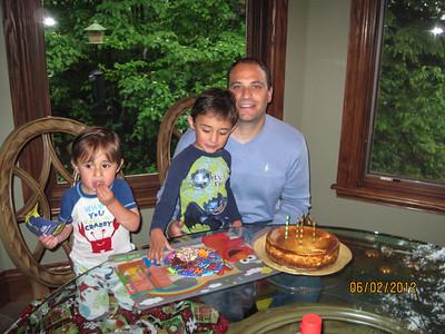 Dan's birthday June 2012