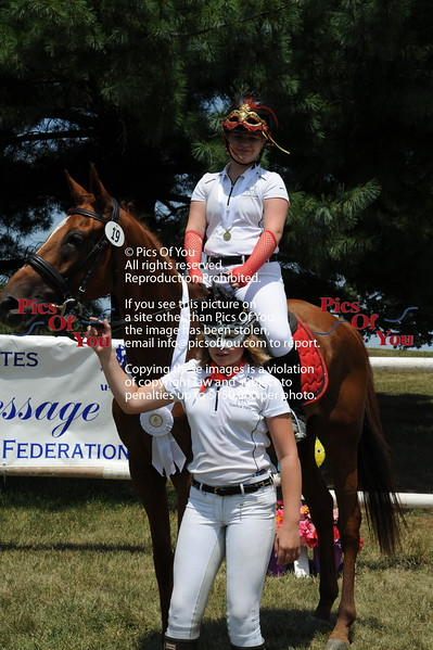 usdf Region One Youth Team Competition July