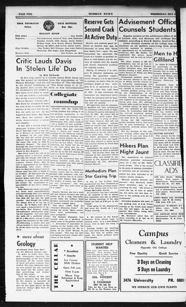 Summer News, Vol. 1, No. 7, July 10, 1946