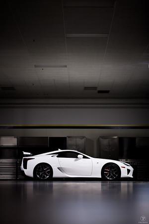 Lexus LFA Photoshoot