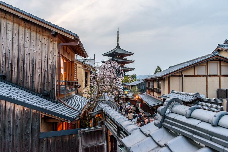 Higashiyama at dusk || Kyoto
