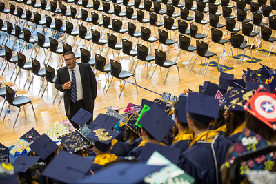 Frederick and Skyline High Graduations