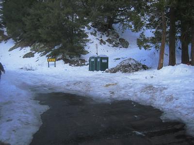 Baldy via Ski Hut 1-12-08