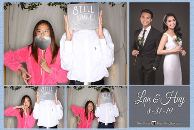 Lan & Huy Wedding - August 31, 2019