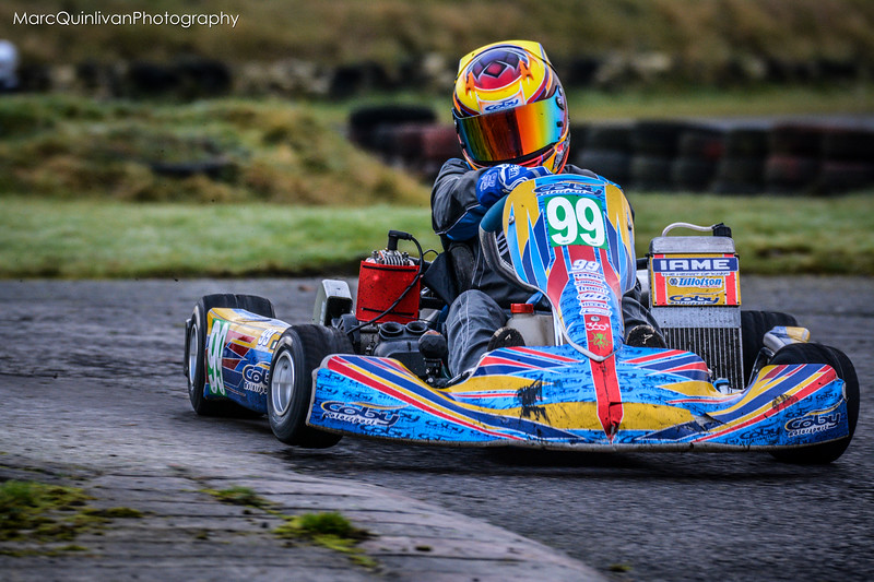 Leinster Karting Club - 2016 Winter Championship - Round 3 - Alyx Coby
