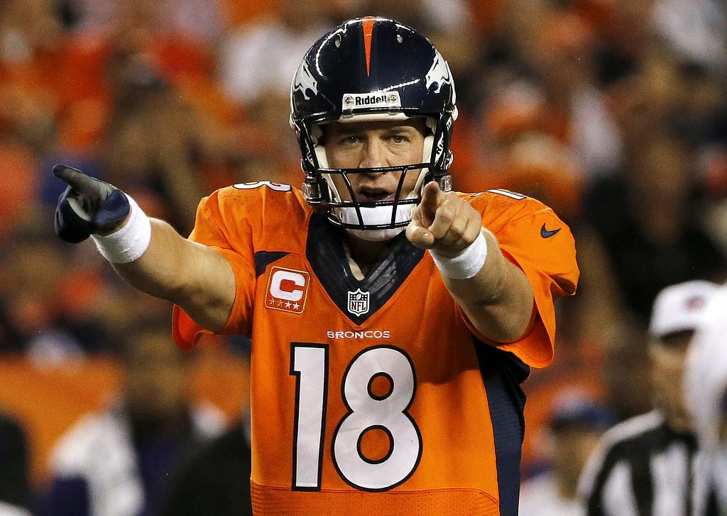 . <p><b> Broncos at Texans (+10½):</b>  <p>Denver�s Peyton Manning was honored last week as Sports Illustrated�s Sportsman of the Year. The Broncos� quarterback emerged as the top choice, apparently, after editors ruled out every athlete that actually WON a championship in 2013. <p>Pick: <b>Broncos by 14</b> <p>    (AP Photo/Ed Andrieski, File)