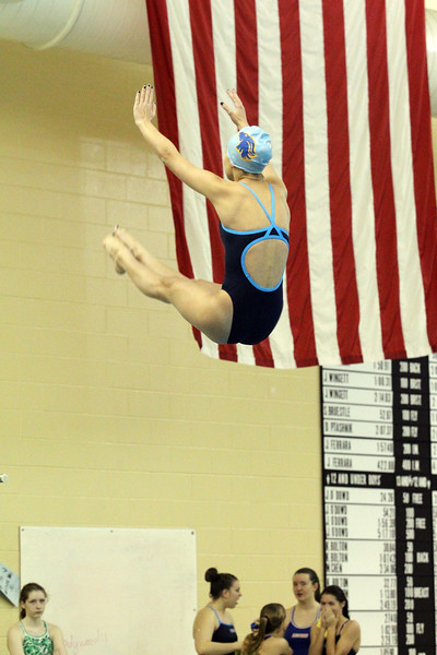 CHSL Girls Swim and Dive 2012