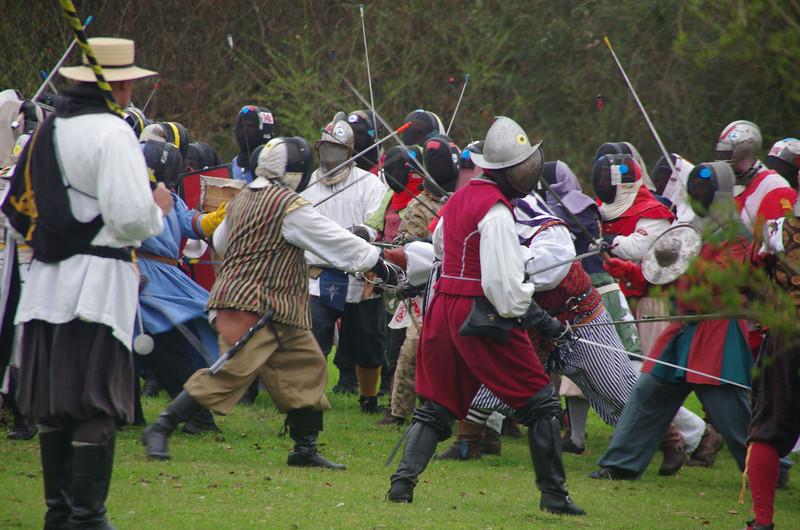 Rapier field battle