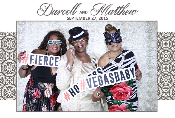 Darcell and Matthew Wedding