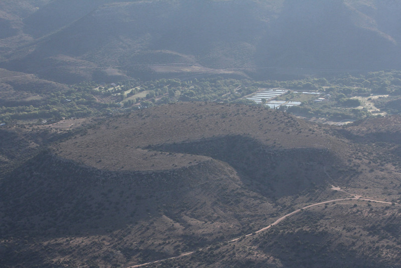 plateau from the air