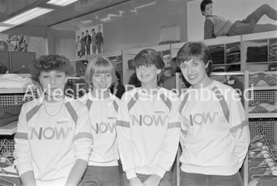 Now shop in Friars Square, Oct 1983