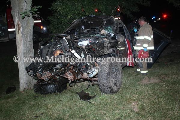 7/3/16 - Eaton Rapids Twp injury crash, Barnes & Waverly