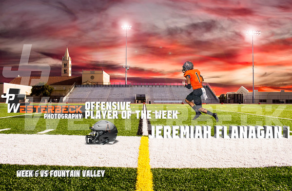 Week 6 vs Fountain Valley Players of the Week