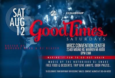 MRCC Convention Center 8-12-17 Saturday