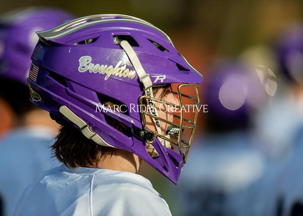 Broughton boys varsity lacrosse vs Enloe. March 10, 2020. D4S_7998