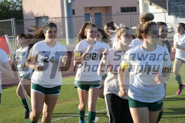 Girls JV Soccer 1-13-20