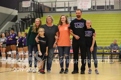 October 22, 2019 Varsity Volleyball vs. Eaton