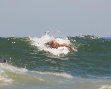 Phillip, Jamie & Robert Surfing @ 10th St.