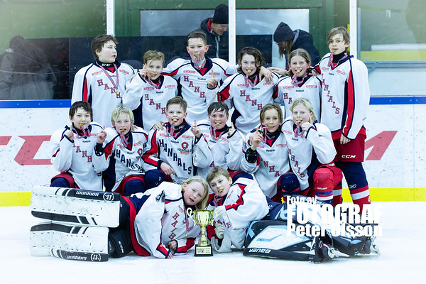 U12 Trollhättan Hockey Trophy 2019-03-02: Hanhals Kings - Grums