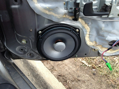 2001 Honda S2000 Front Speaker Installation - USA