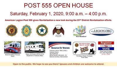 Open House February 1, 2020