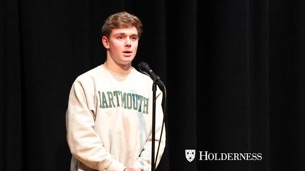 Poetry Out Loud Finals: Videos