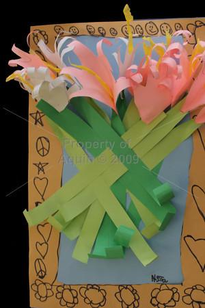 3rd grade easter lilies . 3.18.13