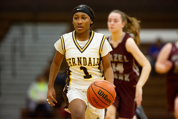 2019-12-5 Ferndale High School Girls Basketball Vs Hazel Park