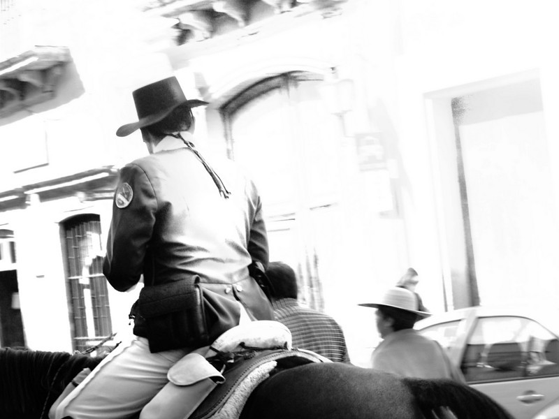 policia on horse bw lr.jpg