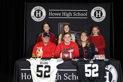 JC Helpenstell signs to play football at McPherson College, 2/14/2020
