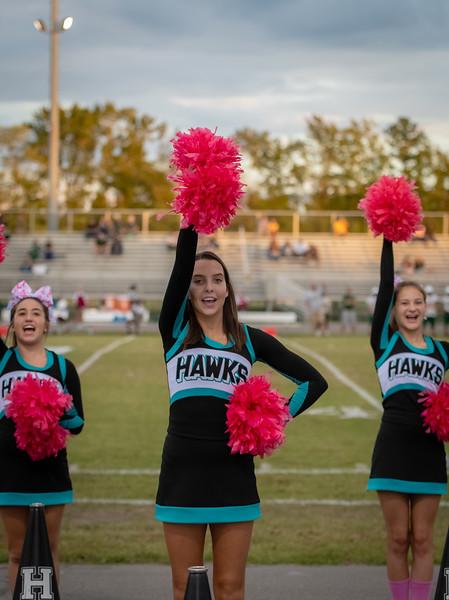 2018-10-15 Great Bridge v Hickory JV Football
