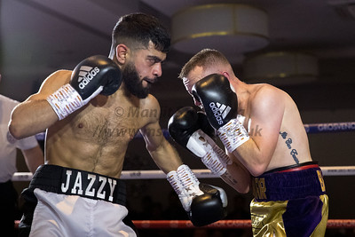 Ijaz Ahmed vs Conor Blackshaw - Midlands Area Flyweight Title - 9th Dec 2018