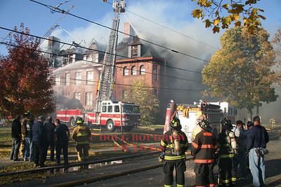 Lexington, MA - 4th Alarm, 33 Forest Street, 10-31-08