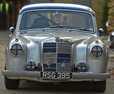 RSG395 1958 Mercedes-Benz 220SE Competition Saloon