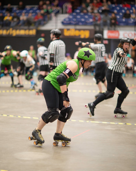State College Area Roller Derby Plan B Vs. Roc City B Sides
