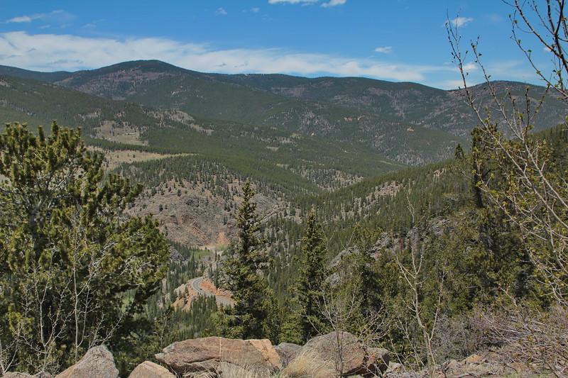 Along CO Route 103 to Mount Evans