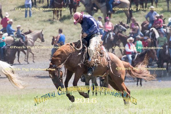 Bronc Fanning 2016 National Championship Chuckwaon Races