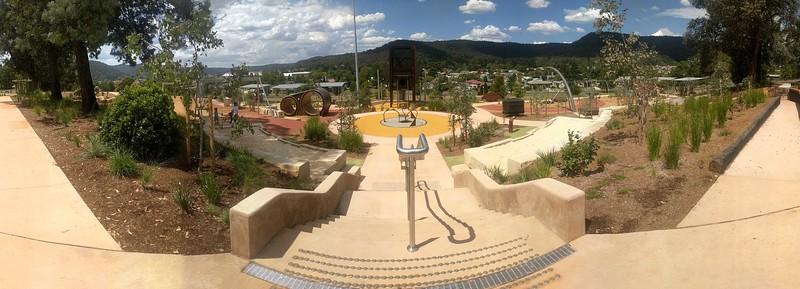Endeavour Park Universal Access Playspace Lithgow