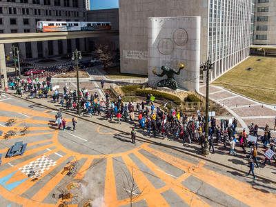 March for our lives-Spirit Plaza.
